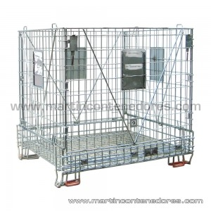 Foldable container 1200x1000x1120/1000 mm