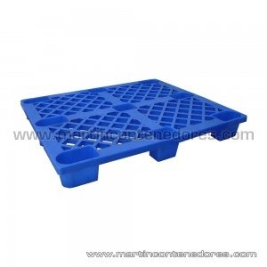 Palet plástico encajable 1200x1000x145 mm