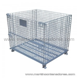Foldable container 1200x1000x900/750 mm