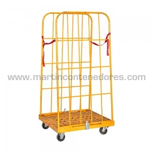 Mesh stillages collapsible 1200x1000x1000/810 mm