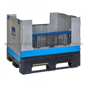 SLI foldable container 1600x1200x750/550 mm