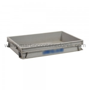 Plastic box 600x400x100/90 mm