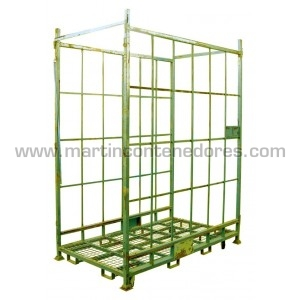 Roll container stackable 2010x1160x2600 mm
