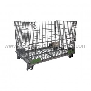Mesh stillages foldable 1200x800x900/750 mm