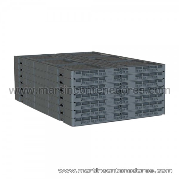 Bac pliable hauteur plié 27 mm
