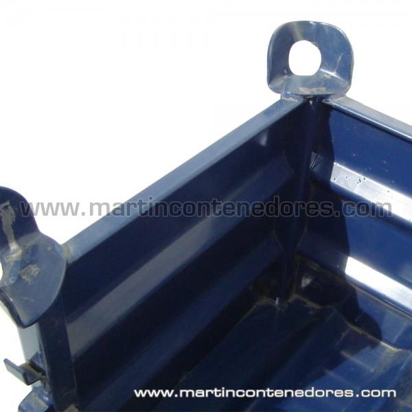 Contenedor Metálico color azul nuevo