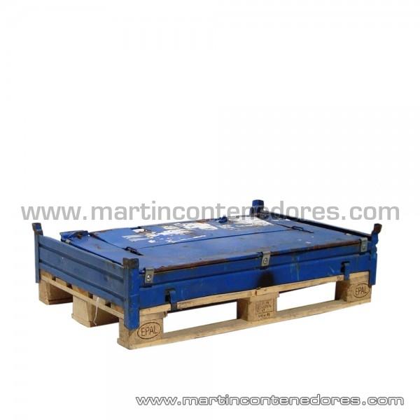 Cerco palet metálico 1200x800x900 mm