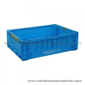 Bac plastic pliant hauteur utile 160 mm