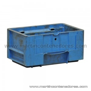 KLT plastic box used