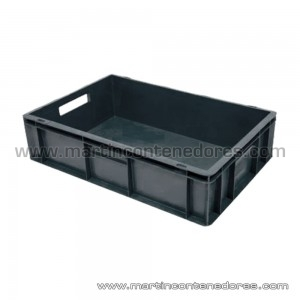 Stackable plastic box