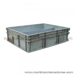 Caja plástica 800x600x200 mm/195 mm