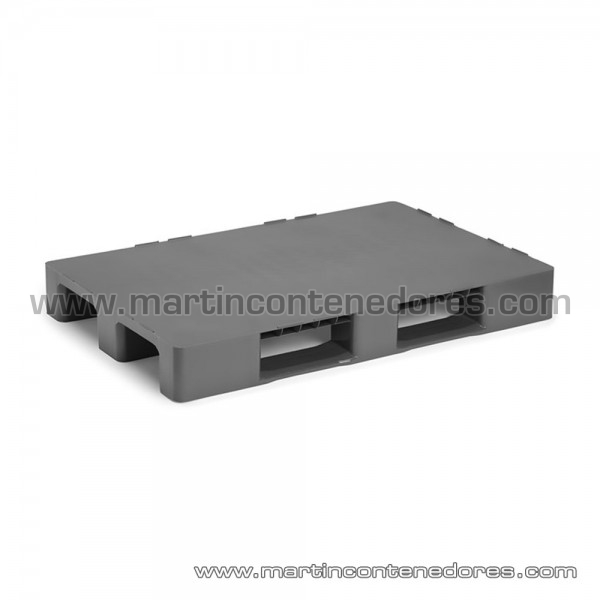 Plastic pallet 1200x800x145 mm