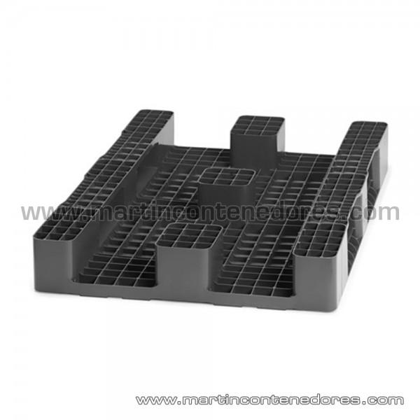 Palete plástico 1200x800x145 mm