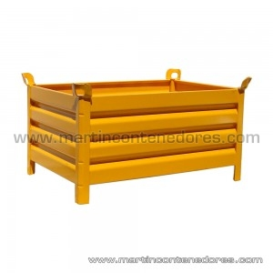 Steel box 1200x800x600/500 mm