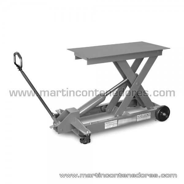 Table élévatrice hauteur plié 210 mm