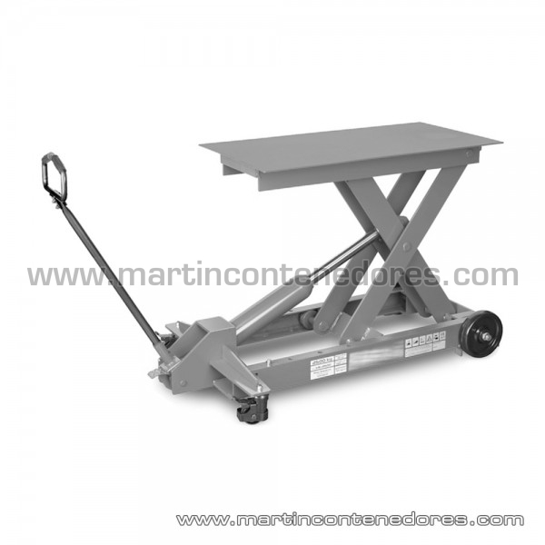 Tables élévatrices hydrauliques hauteur plié 300 mm