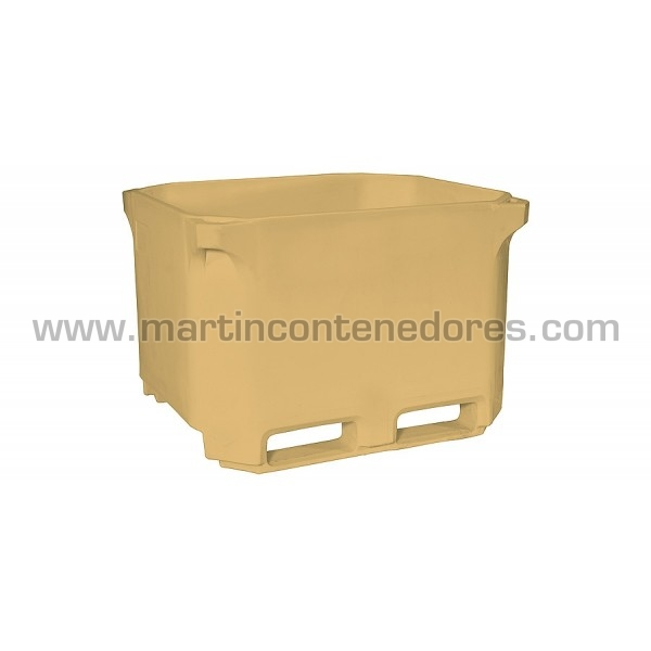 Contenedor isotermo apilable