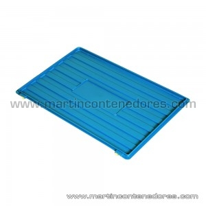 Lid for box 600x400 mm Blue