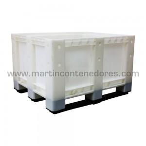 Contentor plástico 1200x1000x760/600 mm