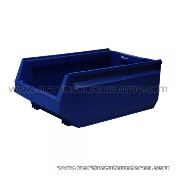 Used storage bin plastic