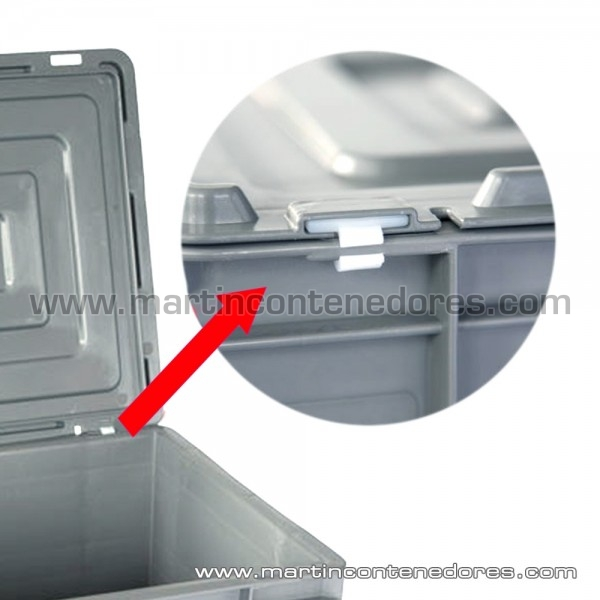 Couvercles plastiques pour bac largeur 400 mm