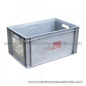 Caja plástica 600x400x300/295 mm