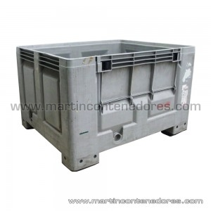 Box plastic 1200x1000x760/610 mm
