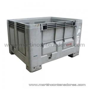 Contenedor plástico 1200x1000x760/610 mm