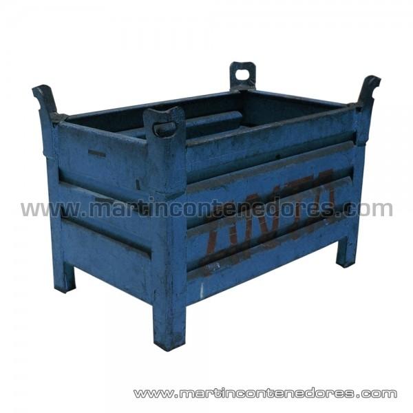 Contenedor metálico fabricado en chapa