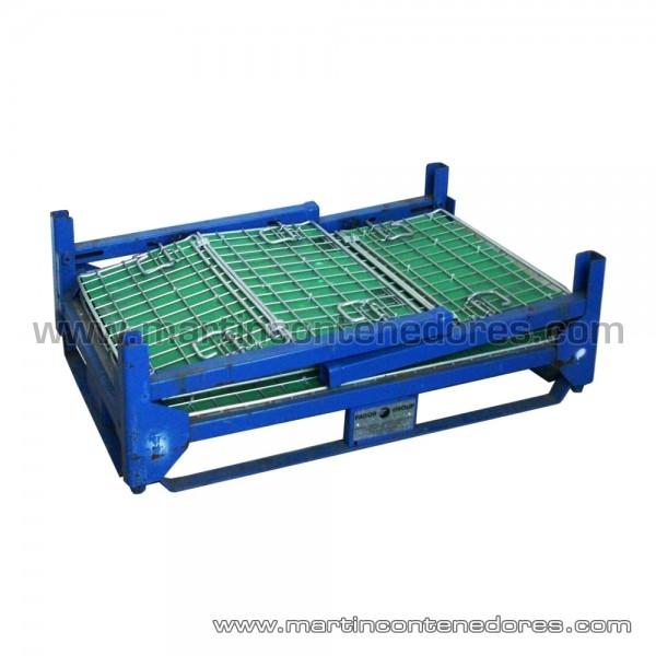 Contenedor plegable 1150x800x730/500 mm