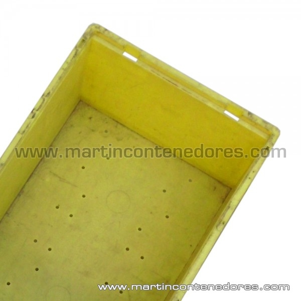 Caja amarillo