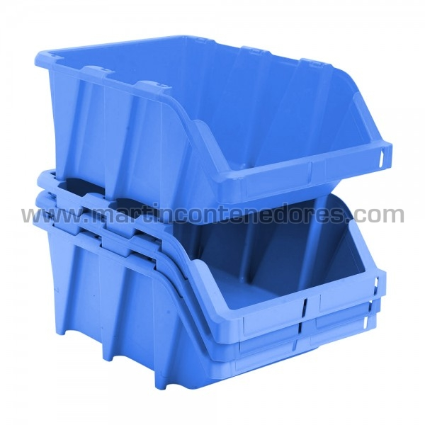 Bac plastique empilable neuf