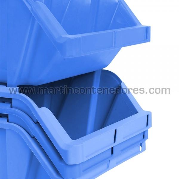 Bac plastique poids à vide 0,9 kg