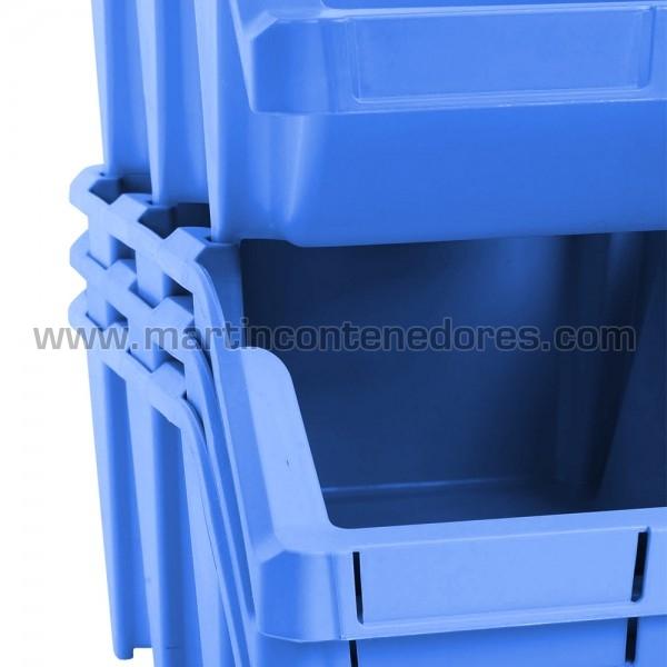 Storage bin plastic 490x310x195 mm