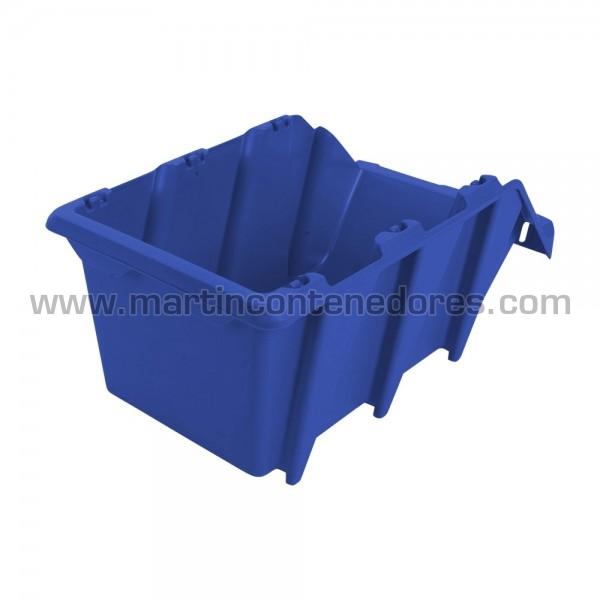 Storage bin plastic 360x218x156 mm