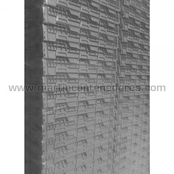 Bac de rangement plastique emboitables