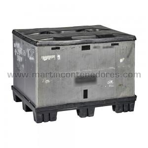 Contentor plástico Eko-pack 1200x1000x870/700 mm