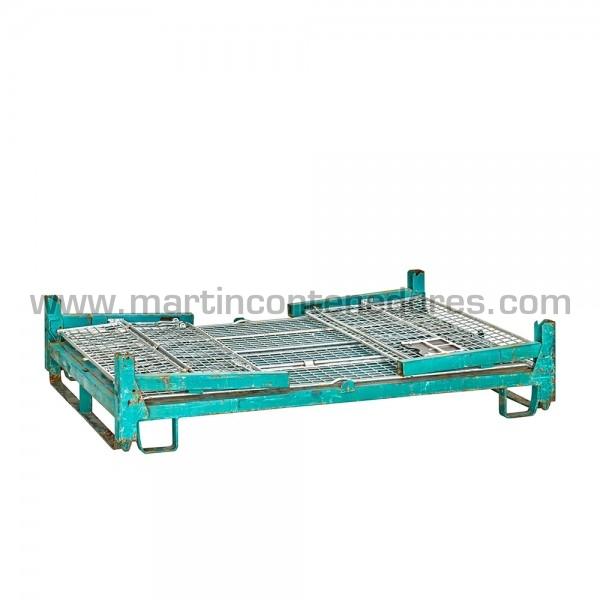Conteneur repliable hauteur utile 550 mm