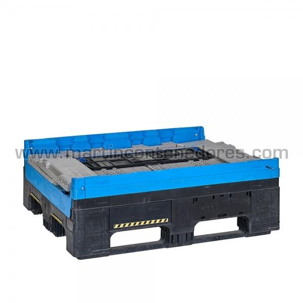 Conteneur plastique capacité d'empilage 1+4