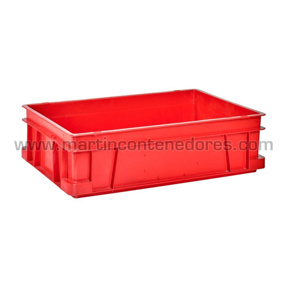 Caja plástica 600x400x170 mm usada