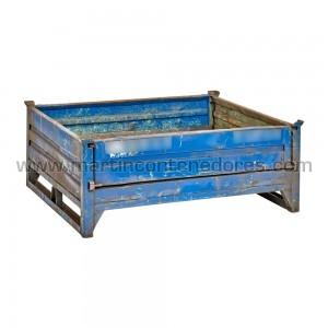 Stacking box steel 1200x1000x450 mm