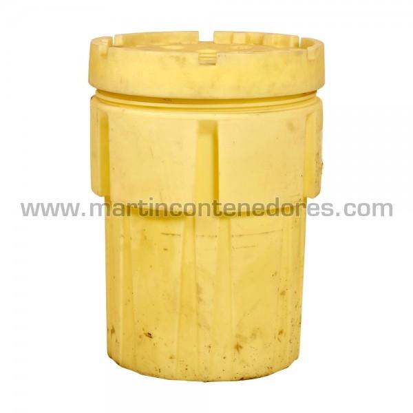 Cubeto de retención de líquidos usado