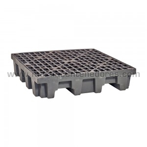 Cubetas Antiderrame usado color negro fabricado en HDPE virgen