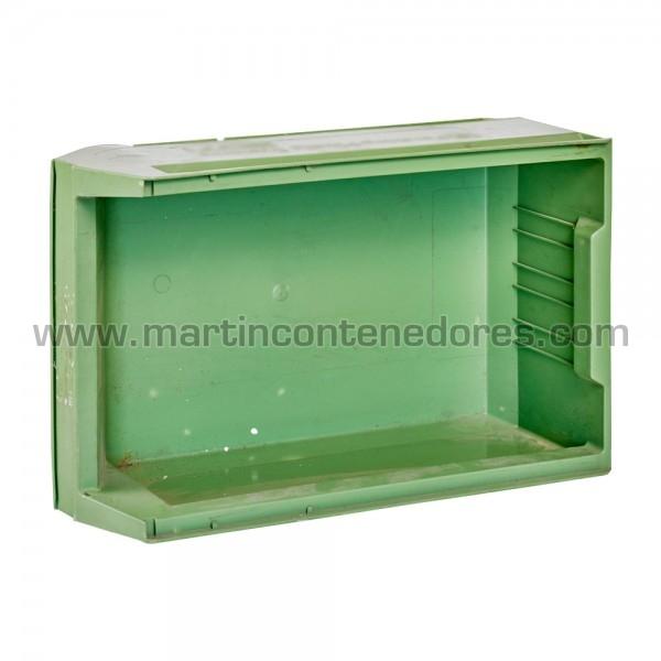Gaveta plástica color verde