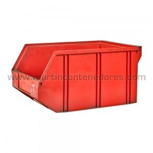 Storage bin plastic 600x400x300 mm