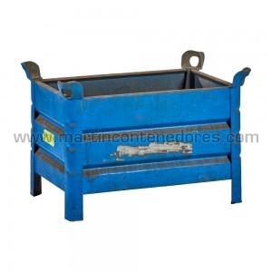 Steel box 800x500x500/400 mm