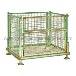 Mesh stillages collapsible...