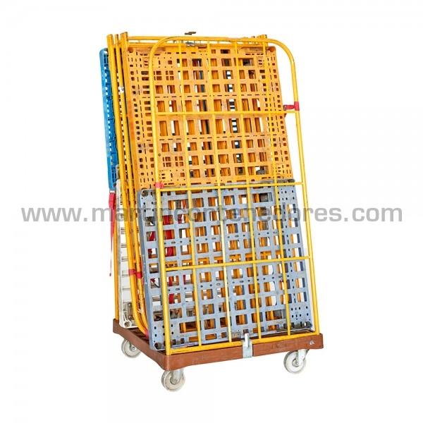 Roll base plástico 810x720x1540 mm