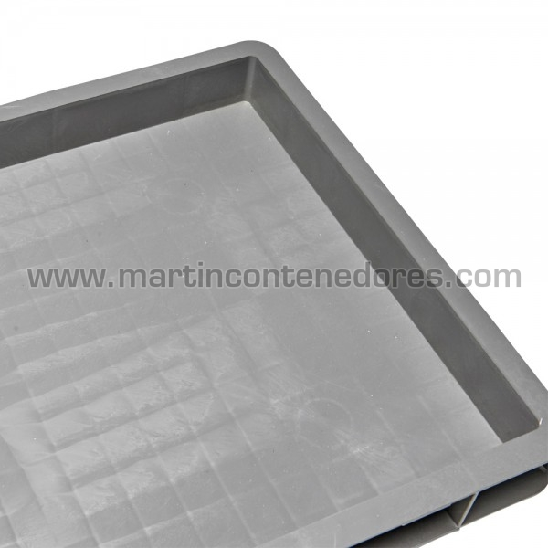 Caixa plástica Euro-norma com bases reforçada