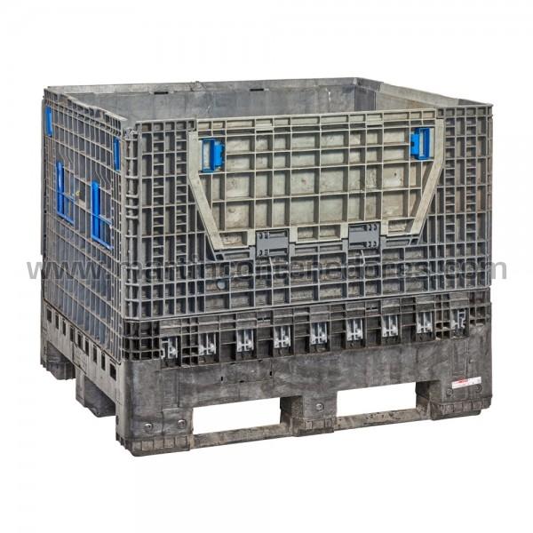 Contenedor plástico plegable